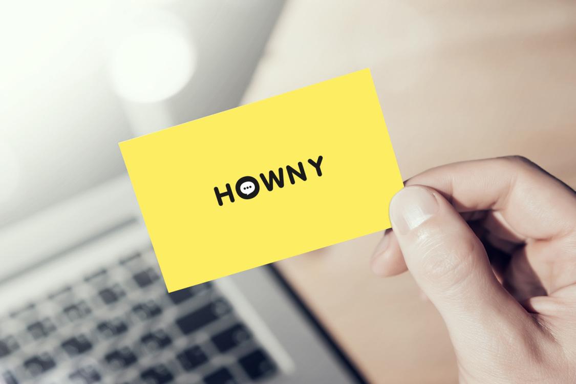 Sample branding #1 for Howny