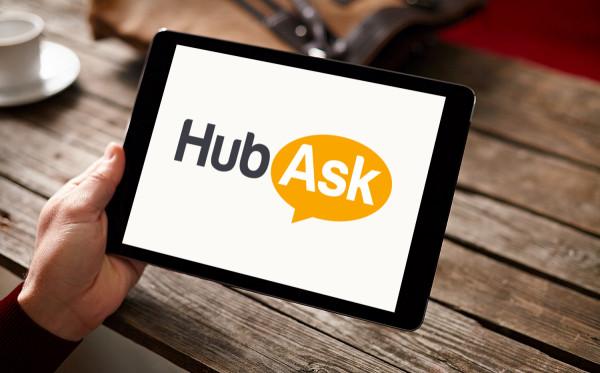 Sample branding #3 for Hubask