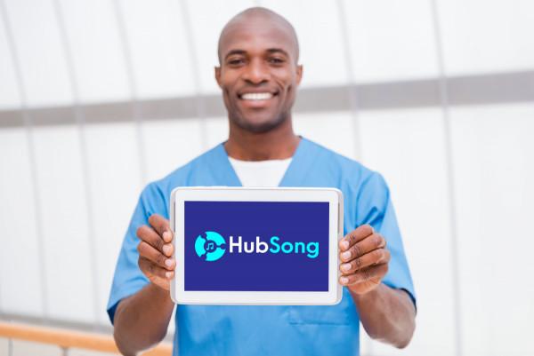Sample branding #3 for Hubsong