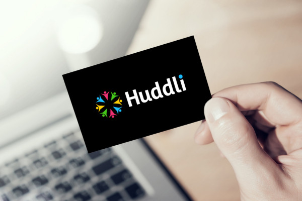 Sample branding #1 for Huddli