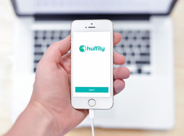 Sample branding #2 for Huffily