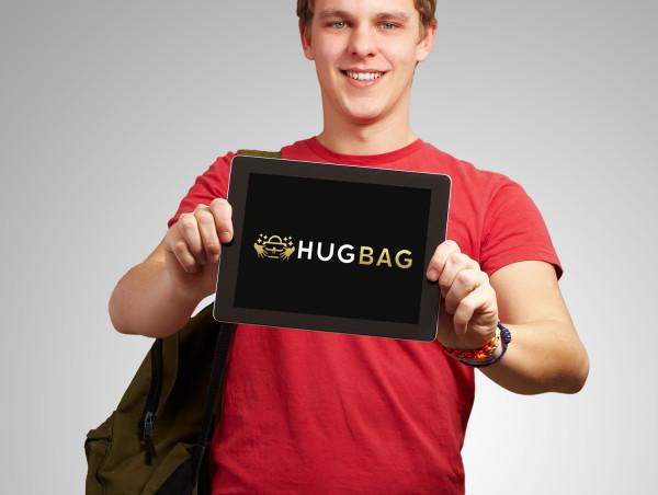 Sample branding #2 for Hugbag