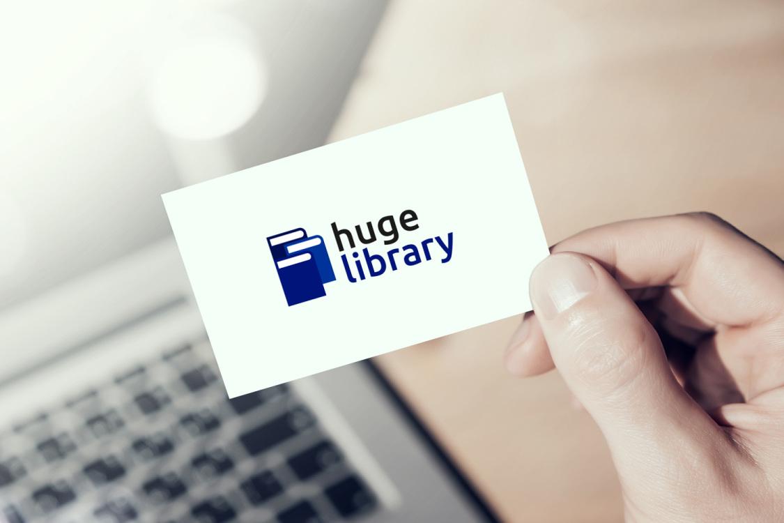 Sample branding #3 for Hugelibrary