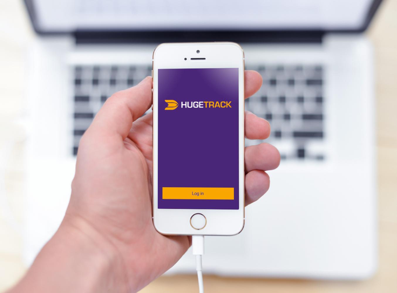 Sample branding #1 for Hugetrack