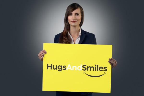Sample branding #1 for Hugsandsmiles