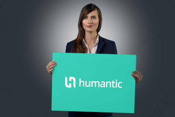 Sample branding #2 for Humantic