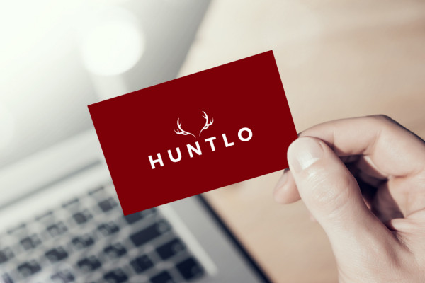 Sample branding #3 for Huntlo