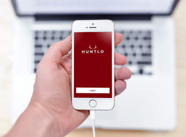 Sample branding #1 for Huntlo