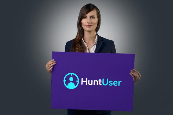 Sample branding #2 for Huntuser