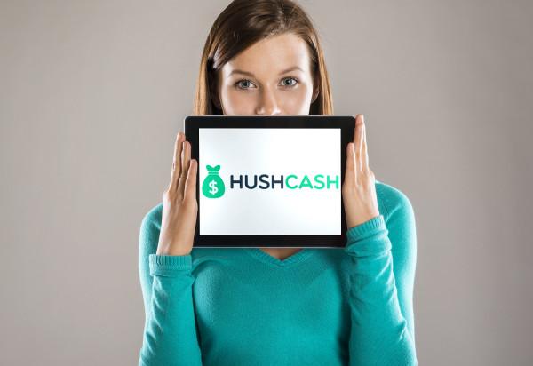 Sample branding #1 for Hushcash