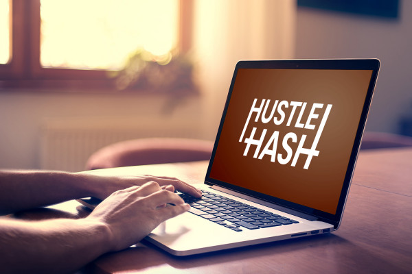 Sample branding #1 for Hustlehash