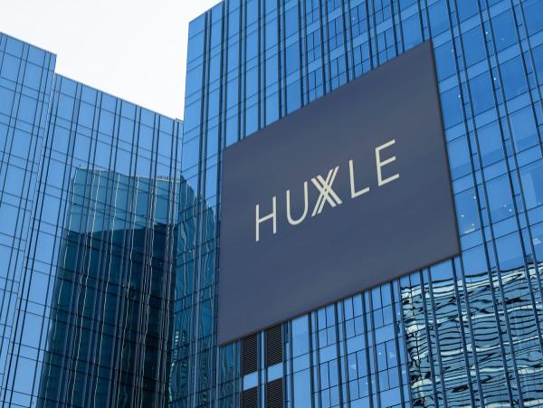 Sample branding #1 for Huxle