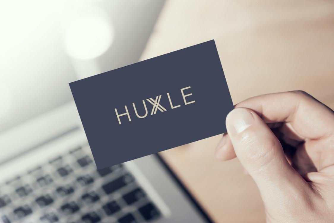 Sample branding #2 for Huxle