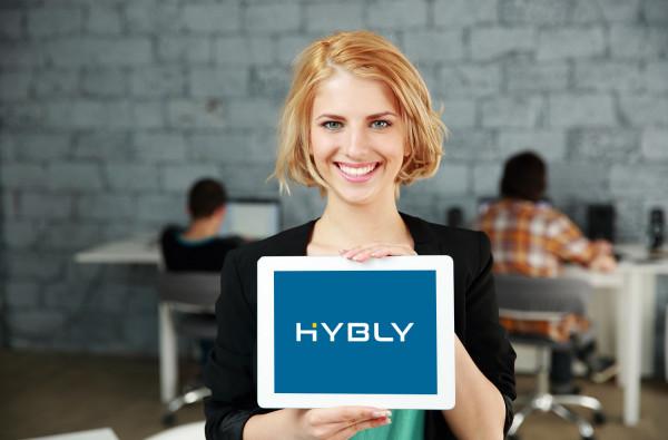 Sample branding #1 for Hybly