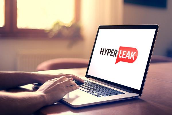 Sample branding #1 for Hyperleak