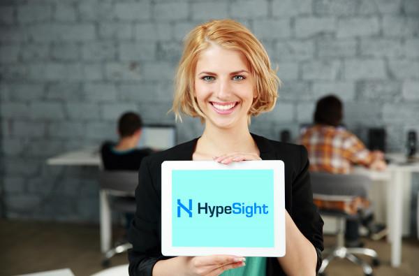 Sample branding #1 for Hypesight