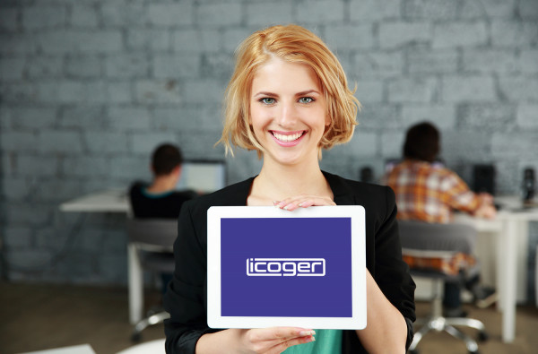 Sample branding #3 for Icoger