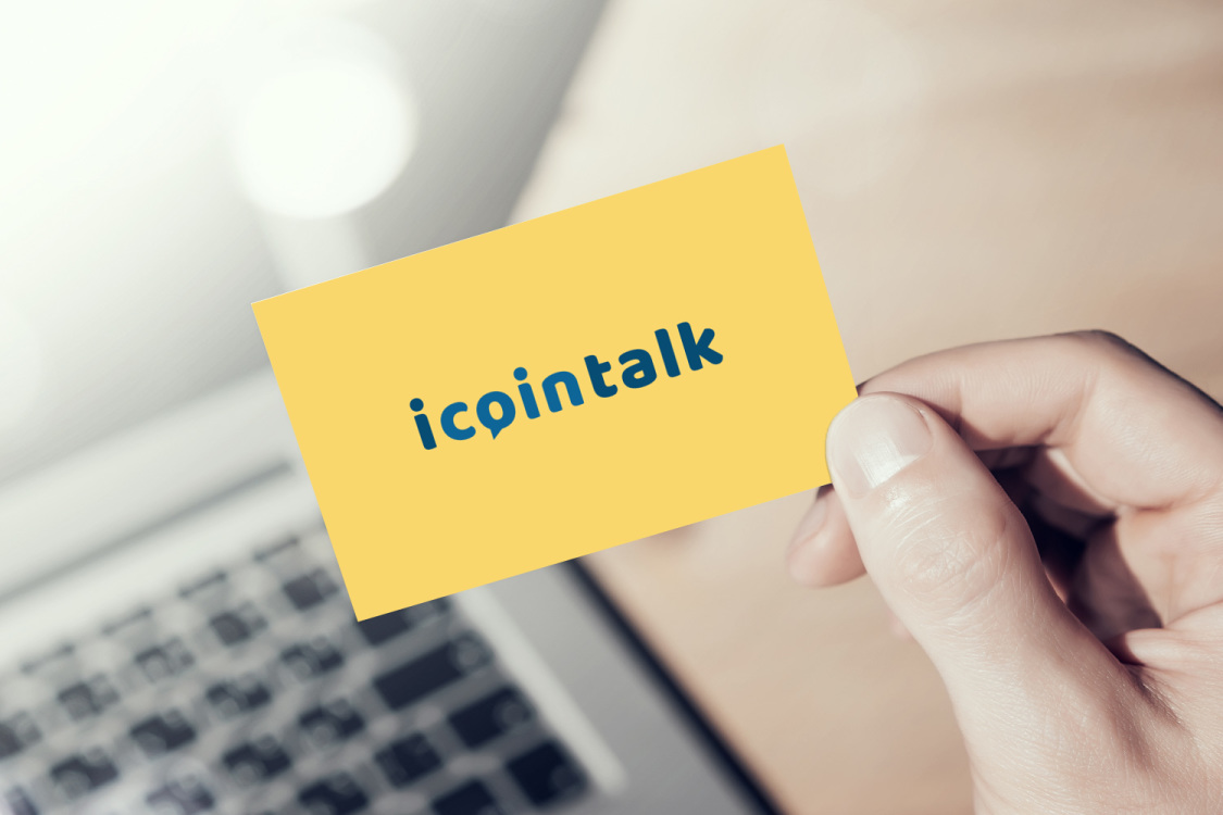 Sample branding #1 for Icointalk