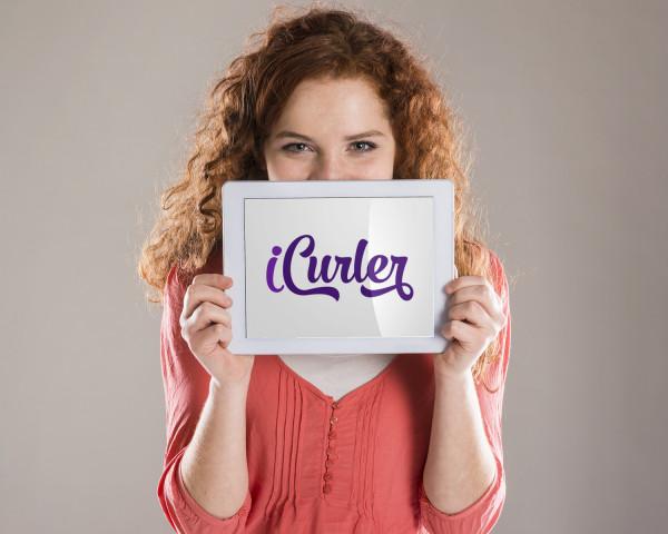 Sample branding #2 for Icurler