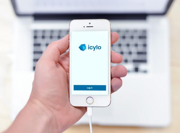 Sample branding #3 for Icylo