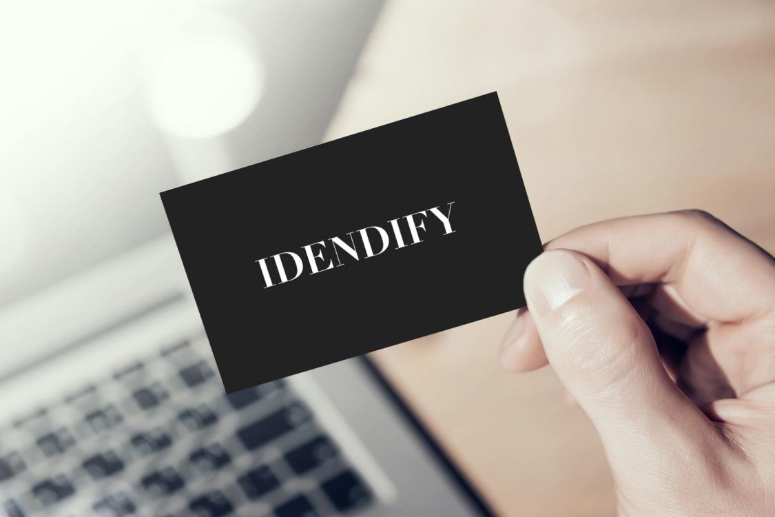 Sample branding #3 for Idendify