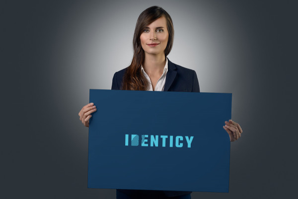 Sample branding #2 for Identicy