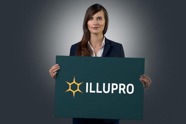 Sample branding #1 for Illupro