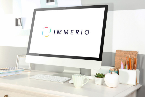 Sample branding #1 for Immerio