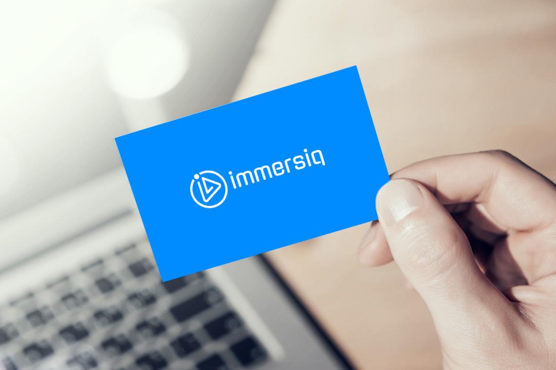 Sample branding #3 for Immersiq