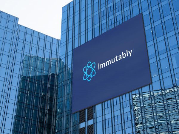 Sample branding #2 for Immutably