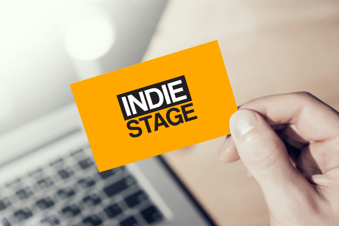 Sample branding #2 for Indiestage