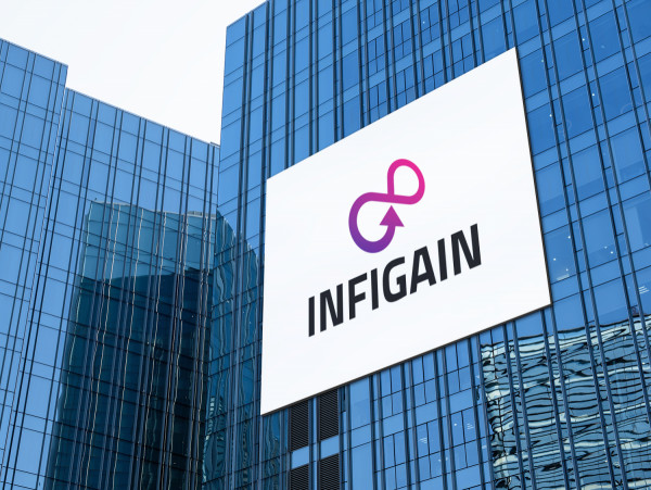 Sample branding #3 for Infigain