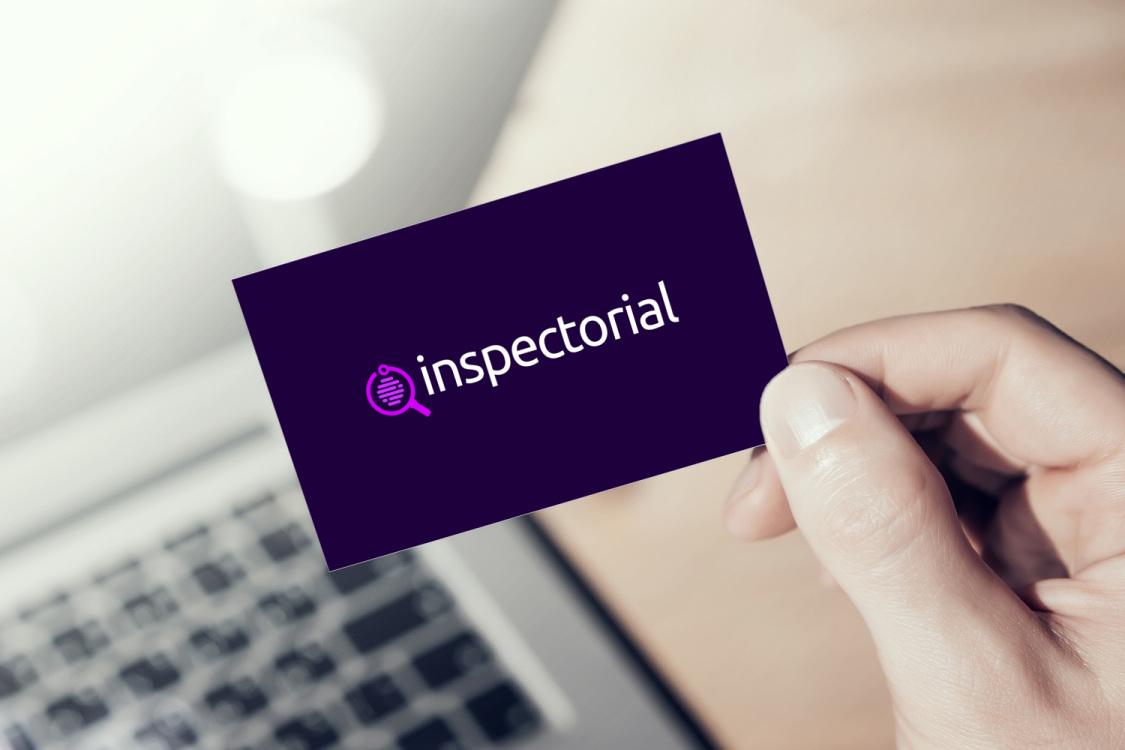 Sample branding #2 for Inspectorial