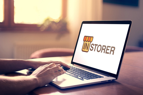 Sample branding #1 for Instorer