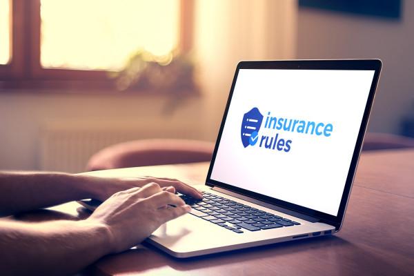 Sample branding #2 for Insurancerules