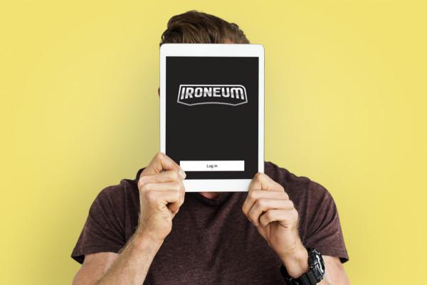 Sample branding #3 for Ironeum
