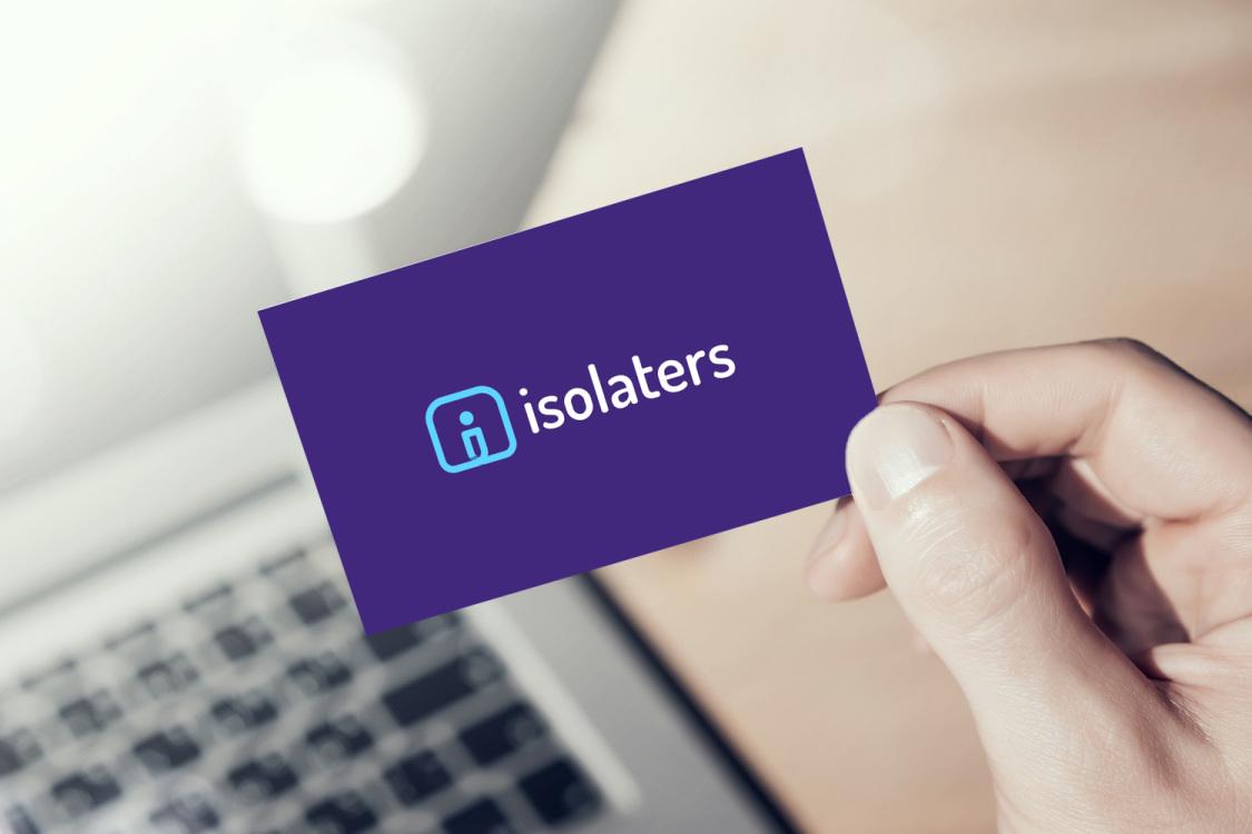 Sample branding #2 for Isolaters
