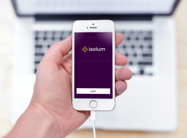 Sample branding #3 for Isolum