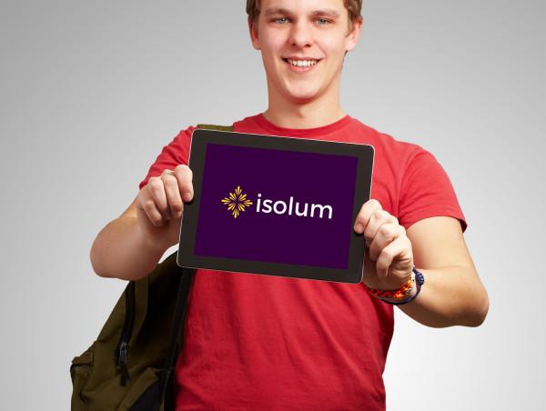 Sample branding #1 for Isolum