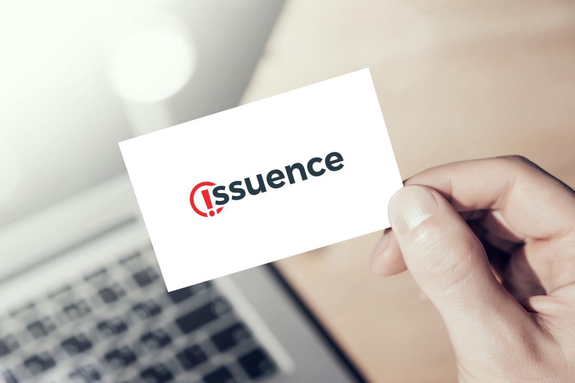 Sample branding #1 for Issuence