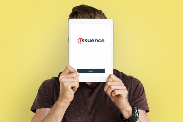 Sample branding #3 for Issuence