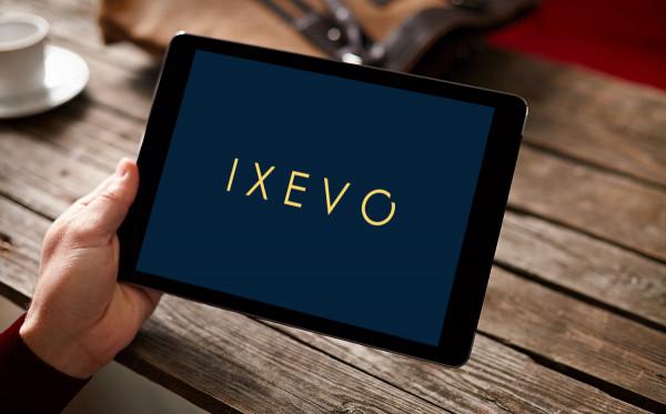 Sample branding #3 for Ixevo