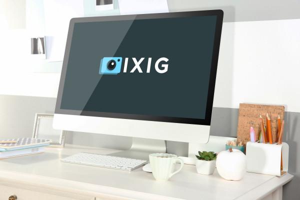 Sample branding #3 for Ixig