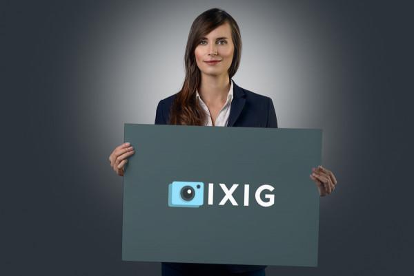 Sample branding #1 for Ixig
