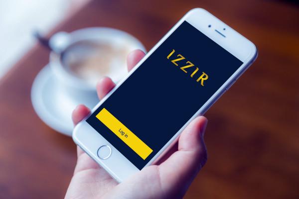 Sample branding #3 for Izzir