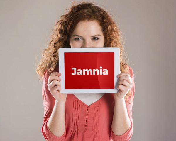 Sample branding #2 for Jamnia
