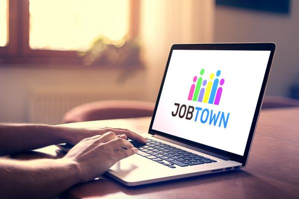 Sample branding #1 for Jobtown
