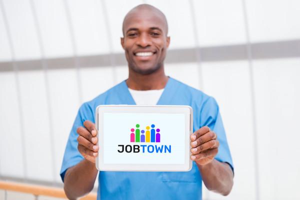 Sample branding #2 for Jobtown