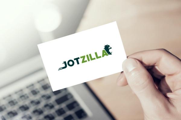 Sample branding #1 for Jotzilla