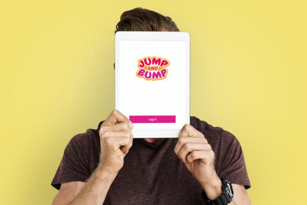 Sample branding #2 for Jumpandbump
